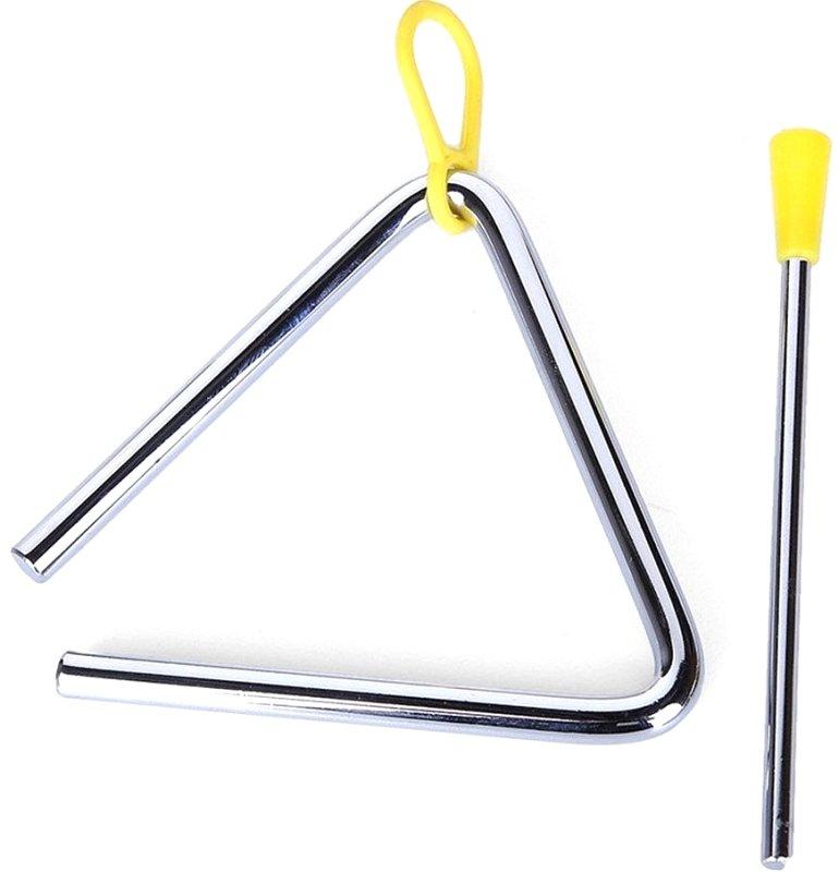 FLT-T07 Треугольник металлический диаметр 8мм, с палочкой
