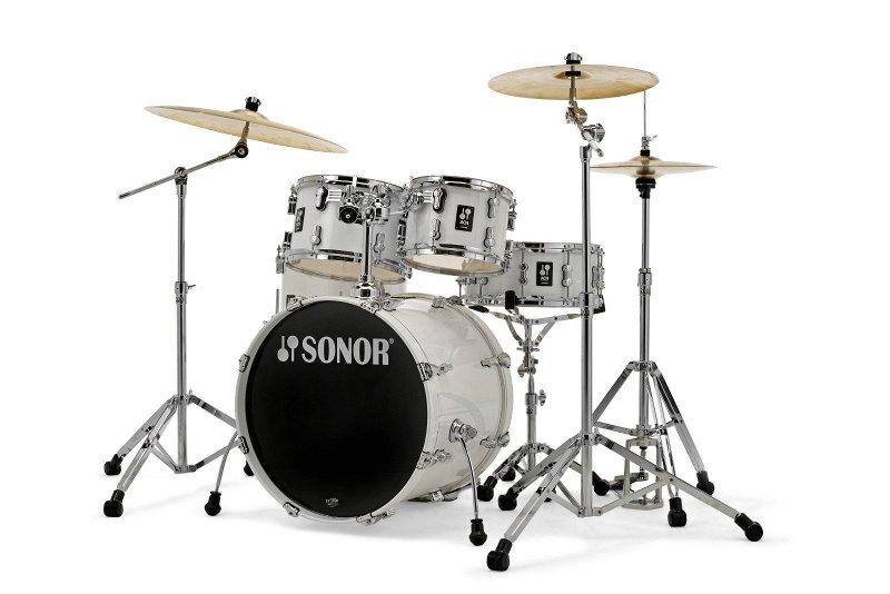 17500113 AQ1 Studio Set PW 17341 Барабанная установка, белая