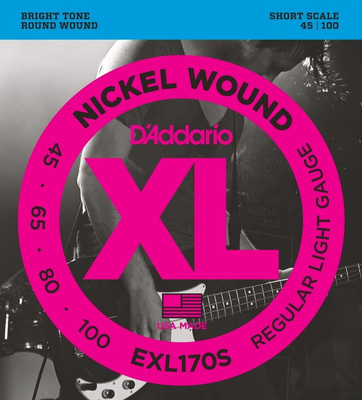 EXL170S NICKEL WOUND Light, Short Scale