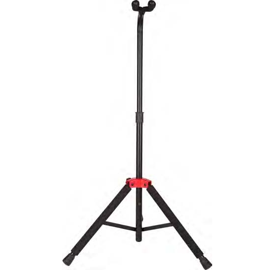 Deluxe Hanging Guitar Stand, Black/Red, FENDER  - купить со скидкой