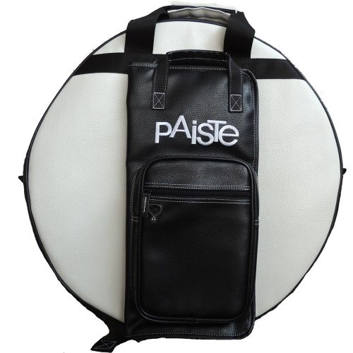 BAGS & CASES 22 PROFESSIONAL CYMBAL BAG WHITE/BLACK