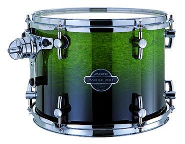 17332521 ESF 11 1209 TT 13072 Essential Force Том-барабан 12`` x 9``, зеленый