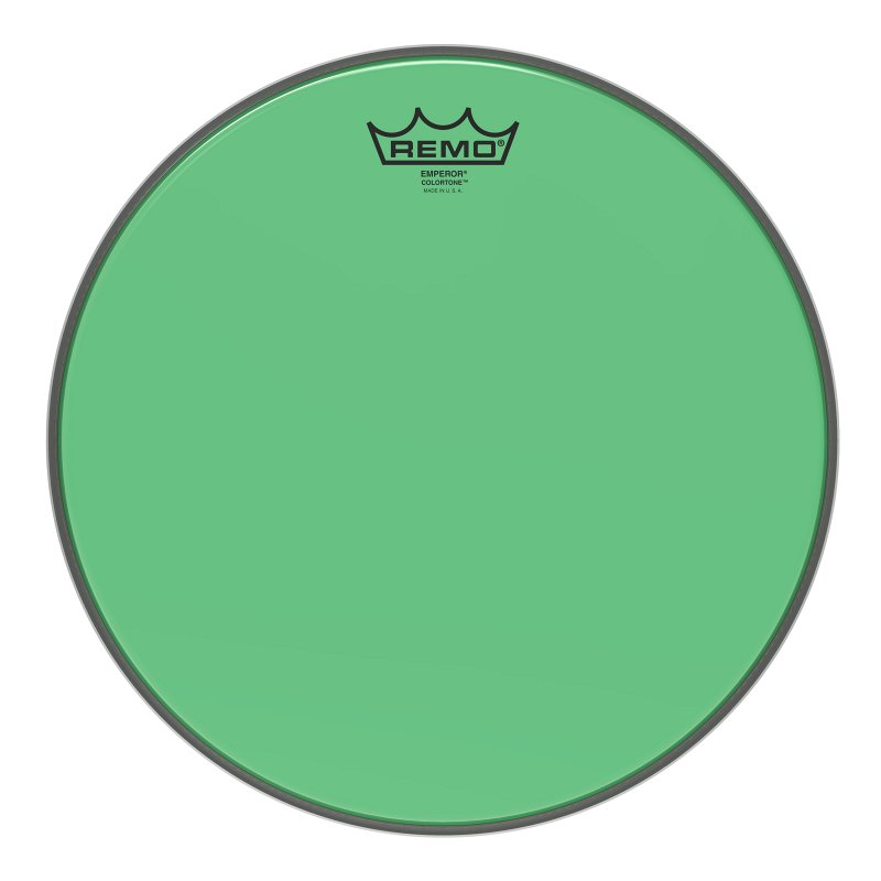 BE-0313-CT-GN Emperor® Colortone™ Green Drumhead, 13.