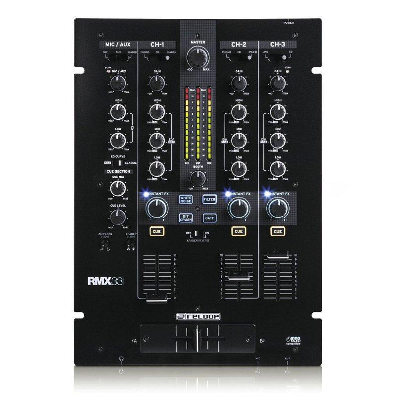 RMX-33i цифровой DJ-микшер фото