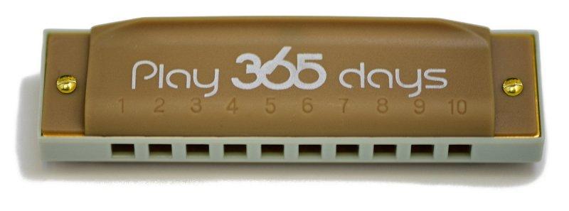 P365-1TN диатоническая губная гармошка детская/ С-До/Цвет коричневый