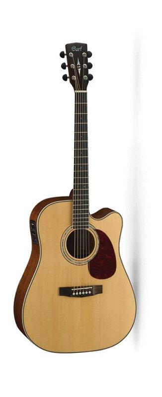 MR710F-NS MR Series Электро-акустическая гитара, с вырезом, цвет натуральный матовый