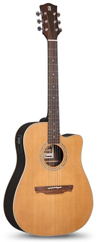 332 Appalachian W-300-CW OP LP E7 Электро-акустическая гитара, с вырезом