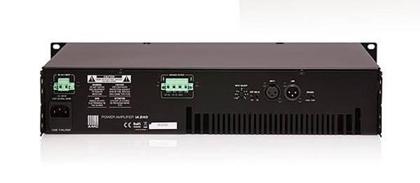 АМС iA-240 Усилитель мощности 240 Вт/100В, встроенный лимитер, многоступенчатая защита, индикатор неисправности