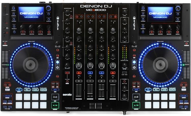 Denon MCX8000 Профессиональный DJ Контроллер / проигрыватель