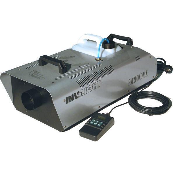 FM2000 DMX - генератор дыма 2000 Вт, DMX-512, проводной пульт c ЖК экраном