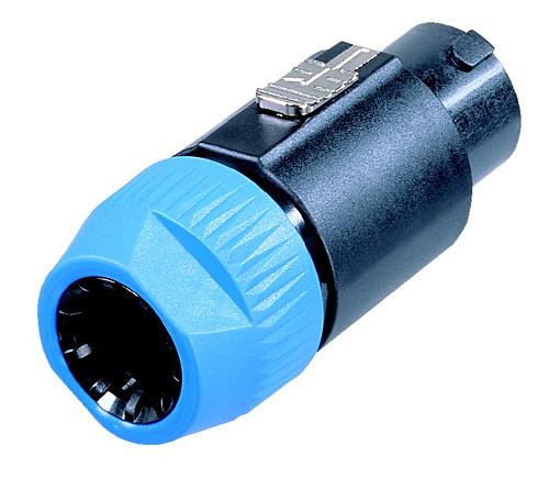 NL8FC - кабельный разъём Speakon, 8-ми контактный