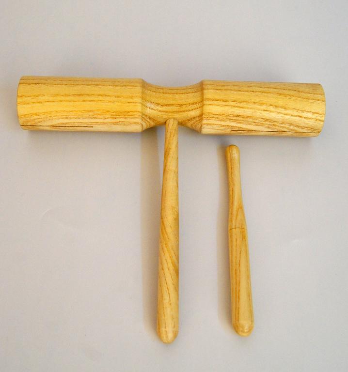 FLT-G5 Тон-блок деревянный на ручке двойной