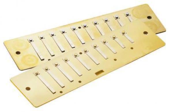2010RP-C Aero Reed C Major Пластины с язычками для губной гармошки
