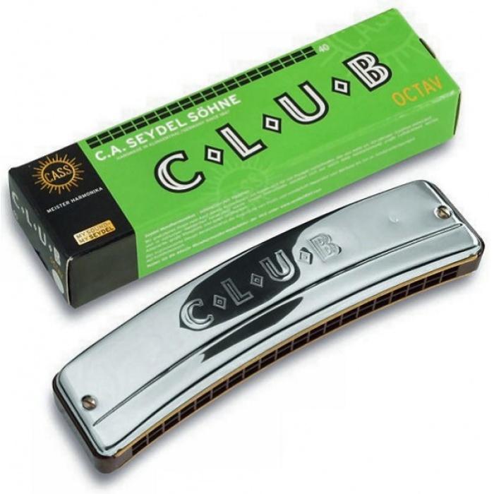 31400HG Club 40 High G Губная гармошка октавная