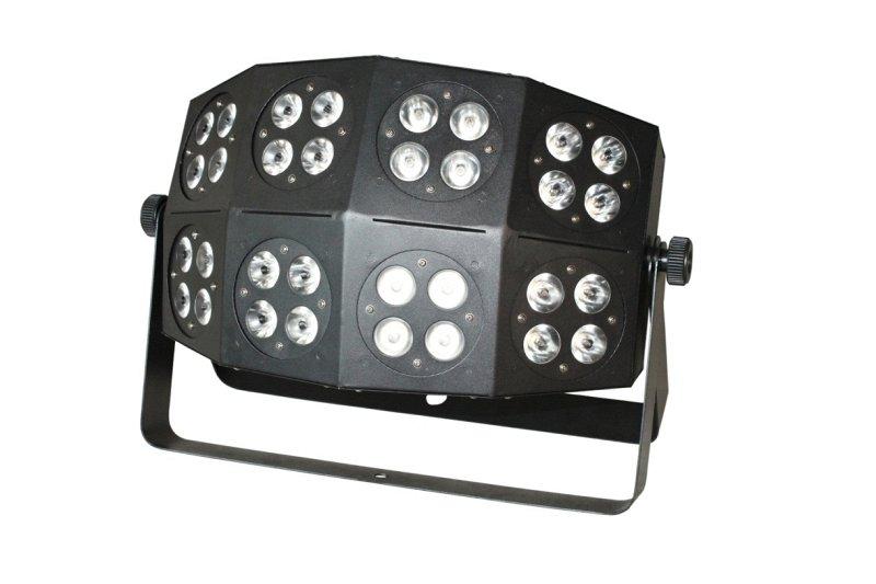 OB350 - светодиодный RGB блиндер, 32 шт. RGB 3 Вт мультичип, DMX-512,звуковая активация