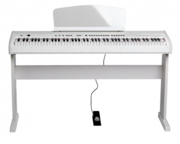 438PIA0704 Stage Studio Цифровое пианино, белое, со стойкой