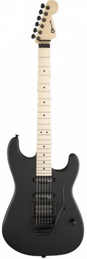 ® USA Select San Dimas® Style 1 HSS FR, Maple Fingerboard, Pitch Black фото