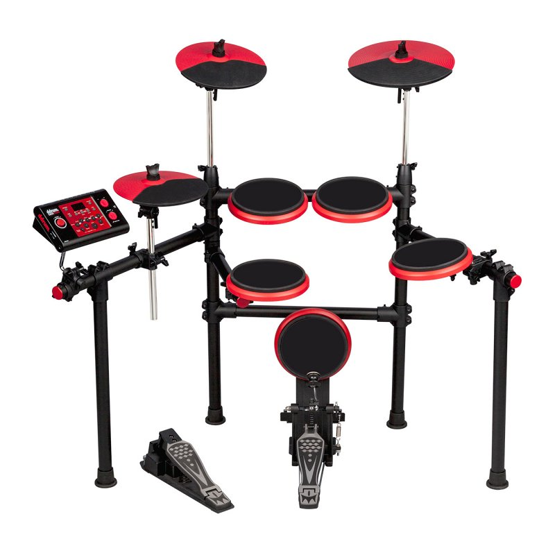 DD1 PLUS - Электронная барабанная установка (модуль, 5 пэдов, 3 тарелки, рама, 2 педали)
