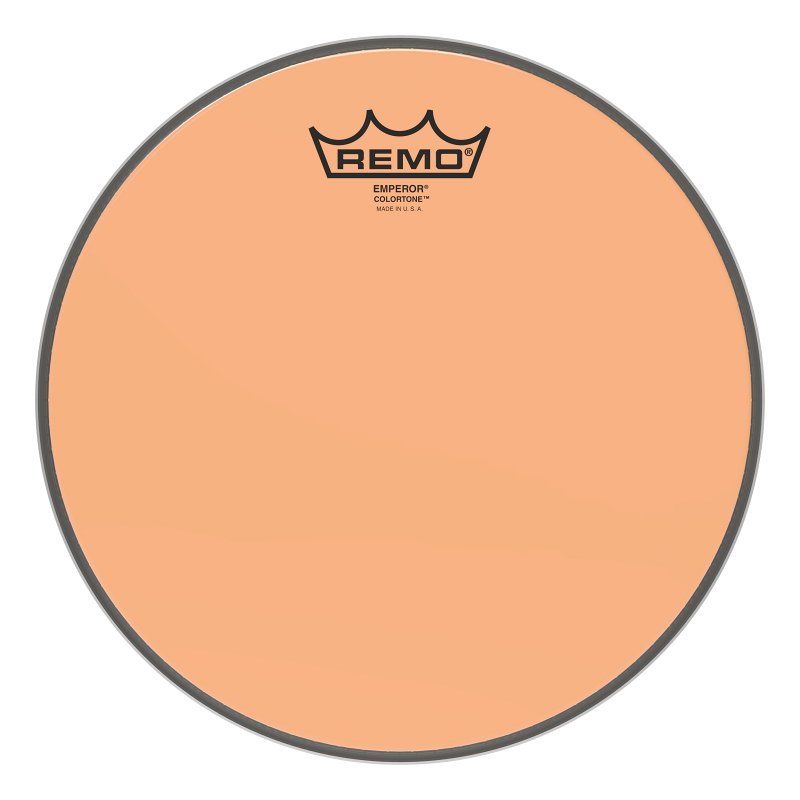 BE-0310-CT-OG Emperor® Colortone™ Orange Drumhead ,10.