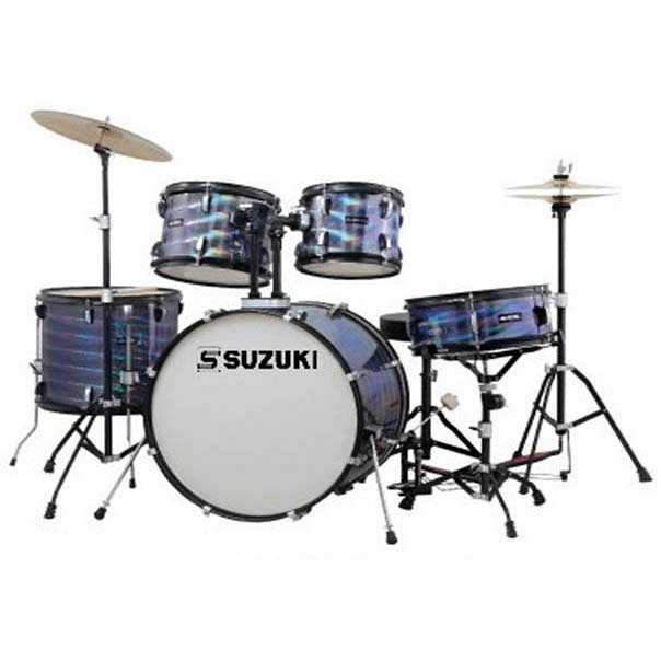 SDS-306C BK барабанная установка (14`12`14`16`22`) цвет черный, стул
