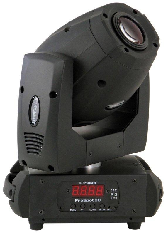 PROSPOT50 - LED вращающаяся голова, белый светодиод 50 Вт, DMX-512