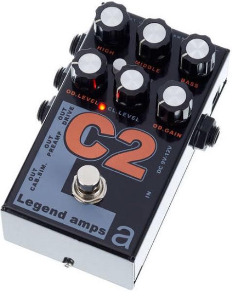 Electronics C-2 Legend Amps 2 Двухканальный гитарный предусилитель C2