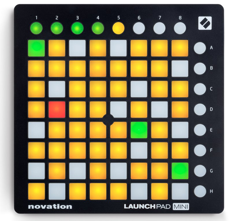 Launchpad Mini MK2, NOVATION  - купить со скидкой