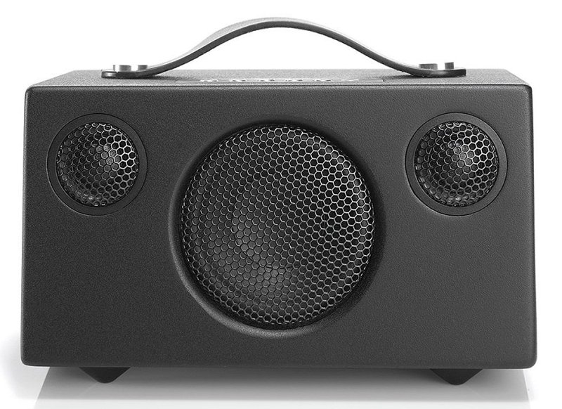 Addon T3 Black Активная портативная стерео колонка с фазоинвертором. Bluetooth 4.0. Динамики: 3 шт, мощность до 2*5+15