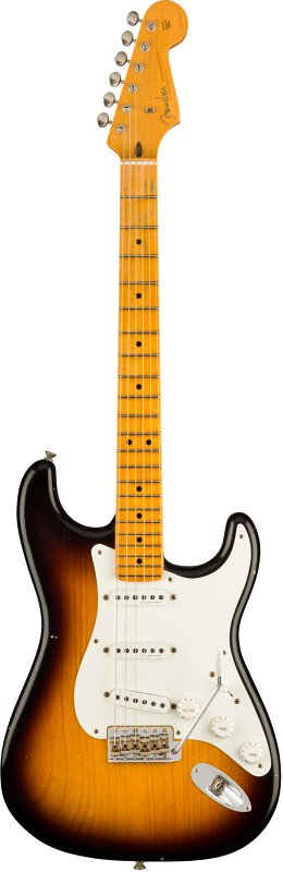 Custom Shop Journeyman Relic Eric Clapton Signature Stratocaster, 2-Color Sunburst