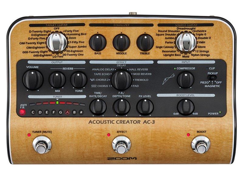 AC-3 Процессор для акустической гитары