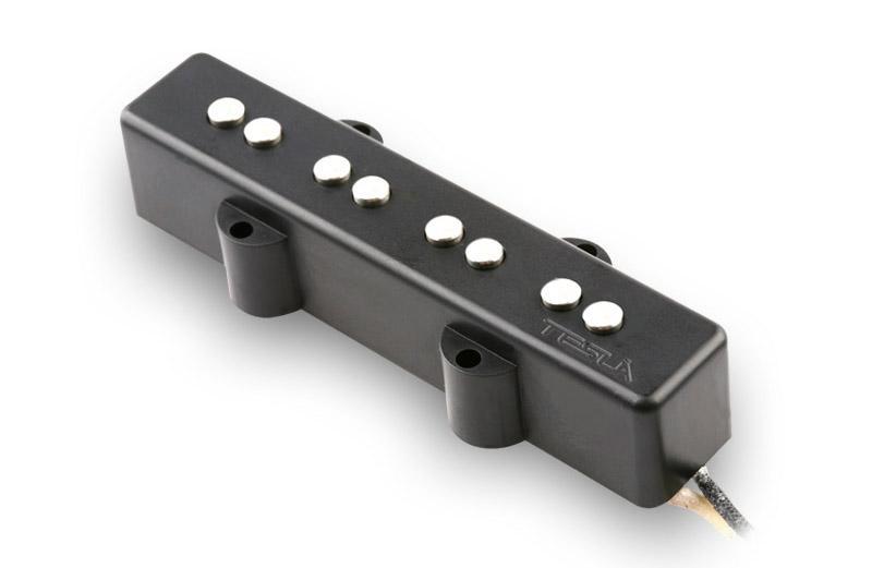 VR-B1/BK/NE Neck. Звукосниматель для 4-струнной бас-гитары, чёрный