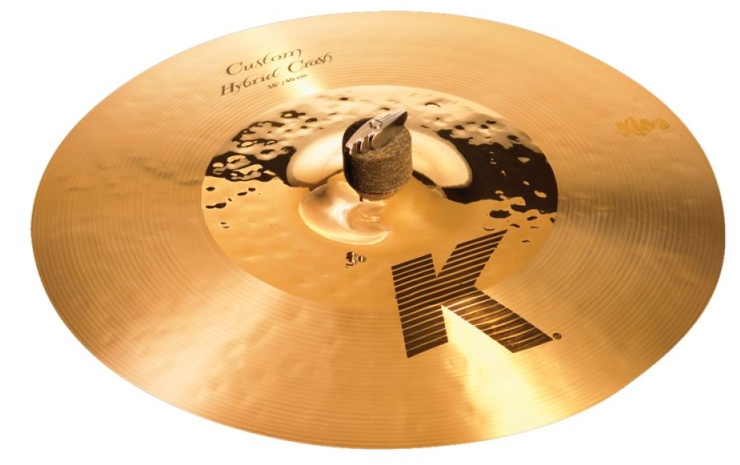 ZILDJIAN K1216 16` K` CUSTOM HYBRID CRASH  фото
