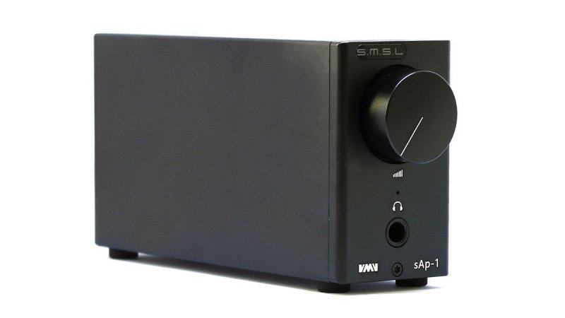 SAP-1 усилитель для наушников, выходная мощность 270 мВт при 32 Ом, 170 мВт при 64 Ом, 88 мВт при 150 Ом и 48 мВт при 300 Ом фото