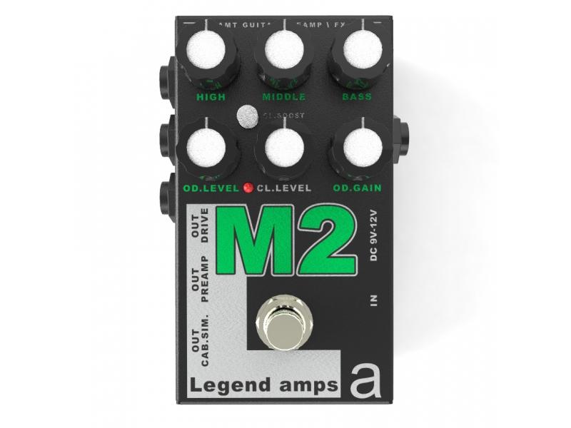 M-2 Legend Amps 2 Двухканальный гитарный предусилитель M2 (JM-800)