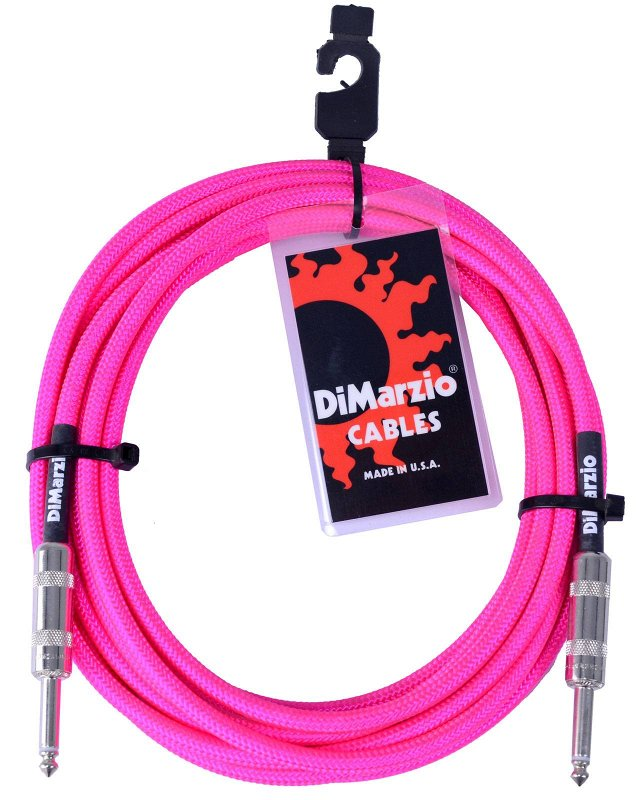 INSTRUMENT CABLE 18` NEON PINK EP1718SSPK