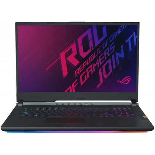 ASUS ROG STRIX GL731GW-EV182 17.3`FHD 144HZ/I7-9750H/16GB/512GB SSD/RTX 2070 8G/DOS/BLACK W/LIGHTBAR