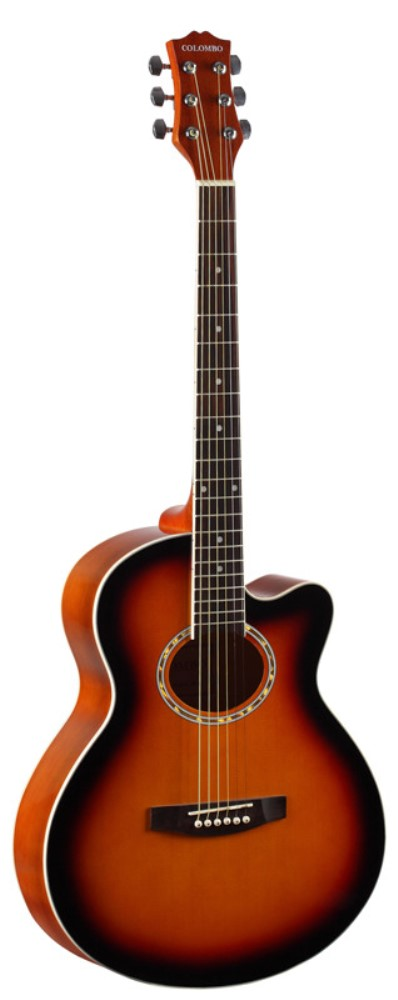 Акустическая гитара COLOMBO LF-401C SB